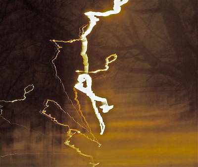 Art Print featuring the photograph Earth Vs Air by Xn Tyler