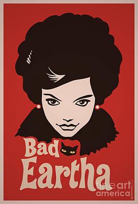 Eartha Kitt - That Bad Eartha Retro Poster Original