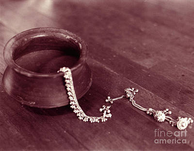 Photograph - Earthen Pot And Silver by Mukta Gupta