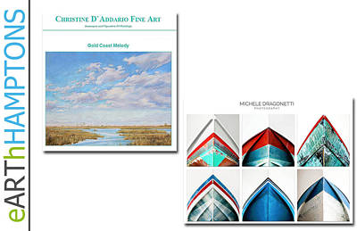 eARThHAMPTON - EAST HAMPTON  Art Print by Earth HAMPTONS
