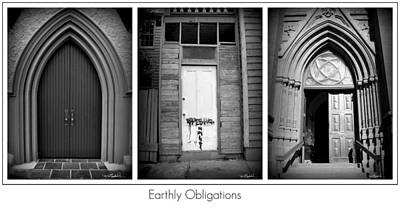 Earthly Obligations Print by Melissa Wyatt