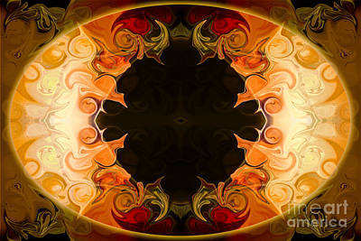 Digital Art - Earthly Undecided Bliss Abstract Organic Art By Omaste Witkowski by Omaste Witkowski