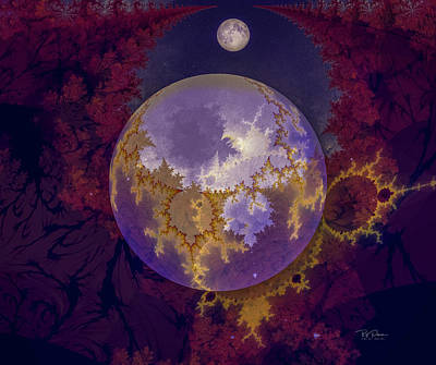 Digital Art - Earths Mistake by Bill Posner