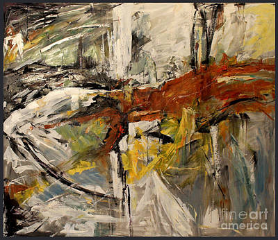 Painting - Earthy Abstraction by Debora Cardaci