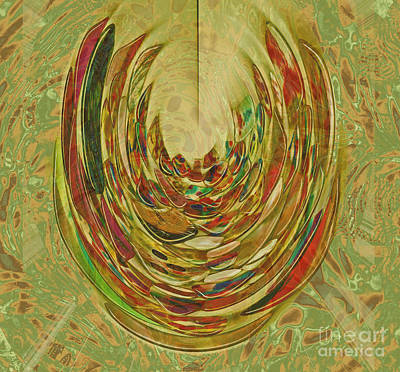 Digital Art - Earthy by Nareeta Martin