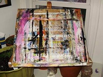 Drawing - Easel by Shelley Bain
