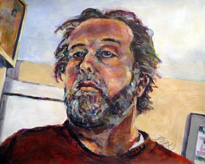 Painting - Easel's Eye by Chuck Berk
