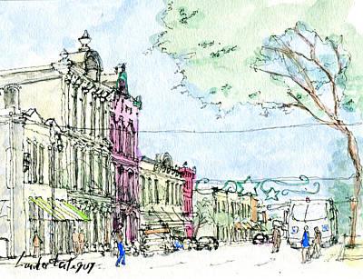 East 6th Street, Austin, Texas Original by Lander Larteguy