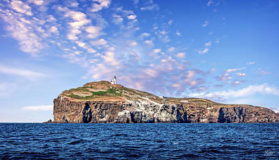 Photograph - East Anacapa Island by Endre Balogh