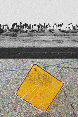 Photograph - East And West On  N Avenida Caballeros by Stan  Magnan