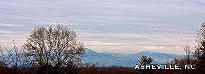 Photograph - East Asheville North Carolina Panorama by John Haldane