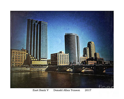 Photograph - East Bank V by Donald Yenson