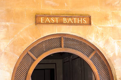 Grate Photograph - East Baths by Christi Kraft