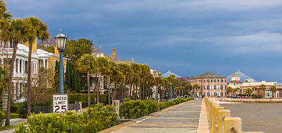 Photograph - East Battery Charleston Sc by Donnie Whitaker