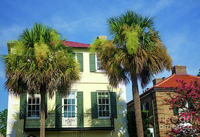 Photograph - Charleston East Bay Street Colors by John Rizzuto