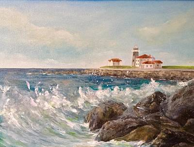 Painting - East Beach View by Anne Barberi