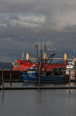 Photograph - East Boat Mooring Basin And Ships by Robert Potts