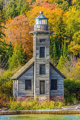 Photograph - East Channel Lighthouse by Lonnie Paulson