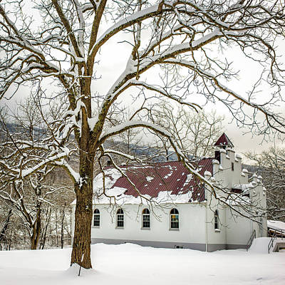 Photograph - East Chapel Church by Joe Shrader