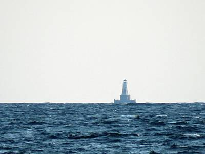Photograph - East Charity Shoal Light by Dennis McCarthy