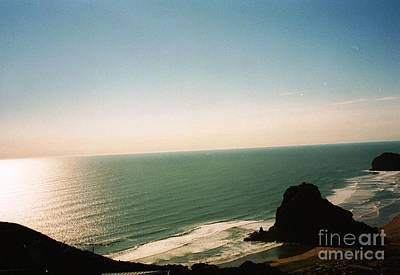 East Coastline In New Zealand Art Print