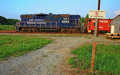 Photograph - East Cooper Berkeley Railroad #6554 A by Joseph C Hinson Photography