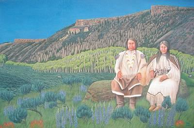 Painting - East Elk Creek by Philipp Merillat