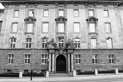 Photograph - East Facade Of Poznan University Of Medical Sciences by Jacek Wojnarowski