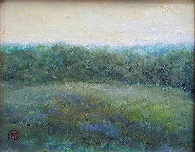 Painting - East Field A by Joe Leahy