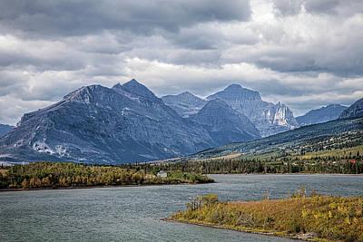 Photograph - East Glacier Entrance by Ronald Lutz