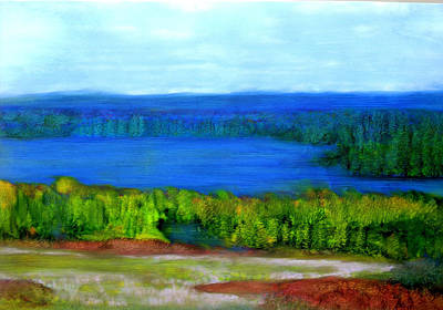 East Grand Lake Maine Art Print