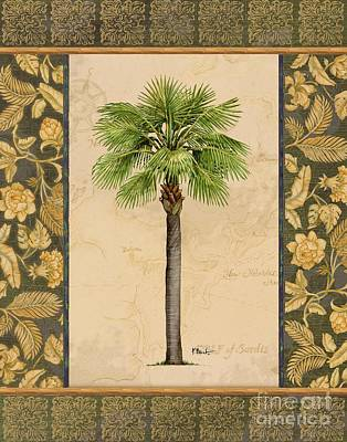 Palmetto Tree Painting - East Indies Palm I by Paul Brent