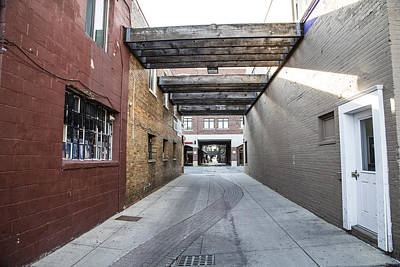 Photograph - East Lansing Alley  by John McGraw
