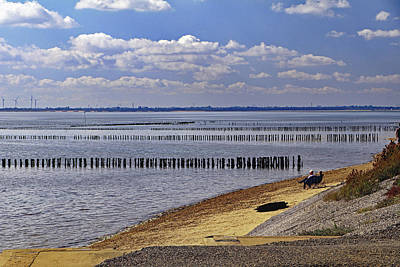 Photograph - East Mersea Beach by Tony Murtagh