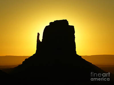 Photograph - East Mitten Butte by Benedict Heekwan Yang
