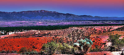 East Of Albuquerque Art Print by David Patterson