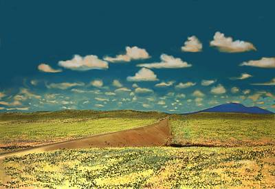 Digital Art - East Of Flagstaff Arizona by Kerry Beverly