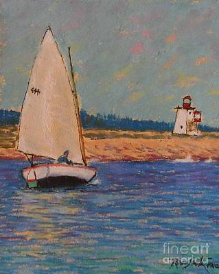 Pastel - East Of Peggy's Cove  by Rae  Smith PAC