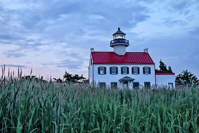Photograph - East Point At Twilight by Kristia Adams