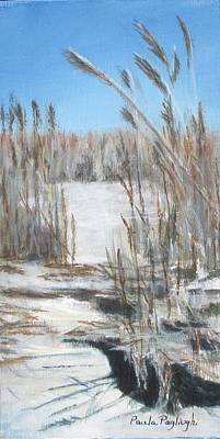 Painting - East Point Beach by Paula Pagliughi