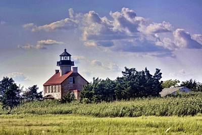 Photograph - East Point Light House by Kevin  Sherf