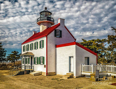 Photograph - East Point Light -renovated by Nick Zelinsky