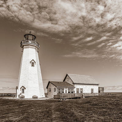 Photograph - East Point Lighthouse by Chris Bordeleau