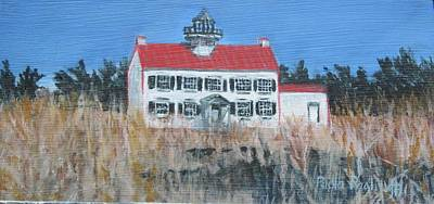 Painting - East Point Lighthouse by Paula Pagliughi