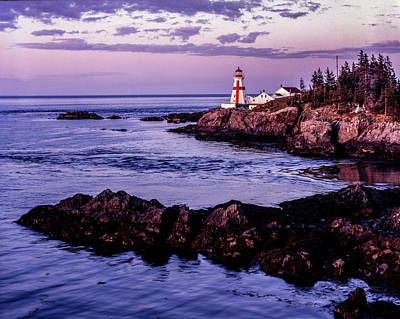 Photograph - East Quoddy Head, Canada by Gary Shepard