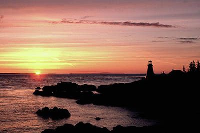 Photograph - East Quoddy Head Sunup by Gary Shepard
