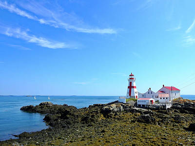 Photograph - East Quoddy Lighthouse by Teri Ridlon