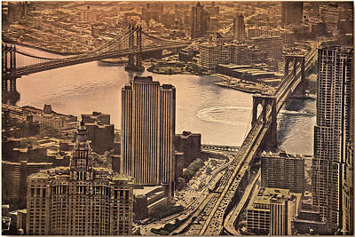 Photograph - East River View by Hanny Heim