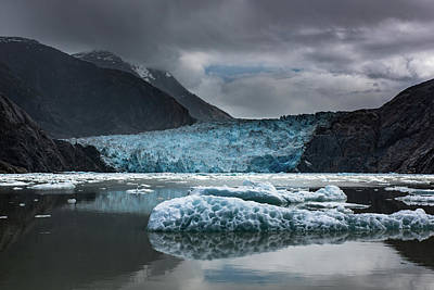 Photograph - East Sawyer Glacier by Michael Balen