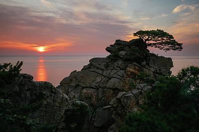 Photograph - East Sea Sunrise by Roy Cruz